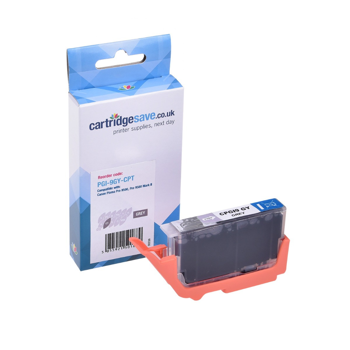 Compatible Grey Canon PGI-9GY Printer Cartridge - (Replaces Canon 1042B008AA)