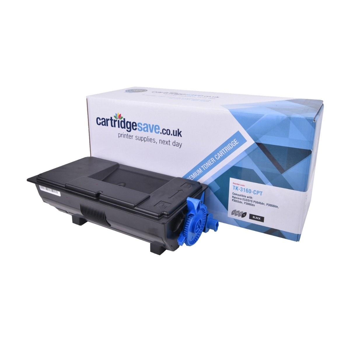 Compatible Kyocera Black TK-3160 Toner Cartridge - (TK3160)