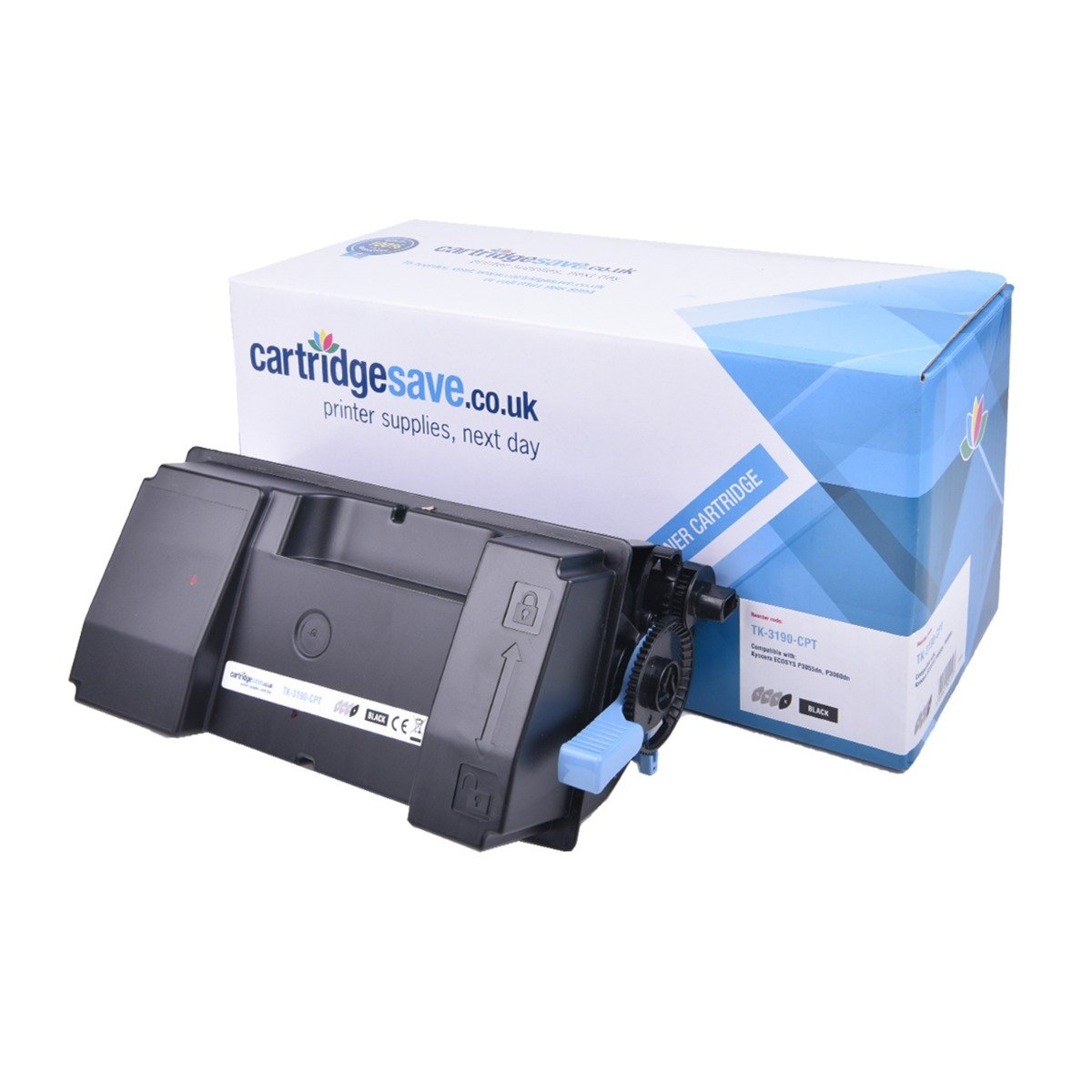 Compatible Kyocera High Capacity Black TK-3190 Toner Cartridge - (TK3190)