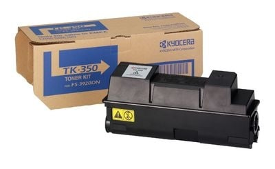 Genuine Black Kyocera Mita TK-350 Toner Cartridge (TK350 Laser Printer Cartridge)