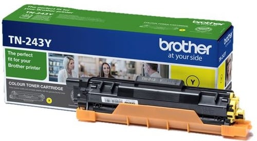 Genuine Yellow Brother TN-243Y Toner Cartridge (TN-243Y Laser Printer Cartridge)