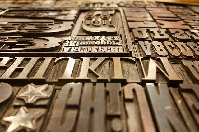 Typography Resources for Printing